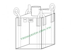 Plain (flat) bottom FIBc bulk bags