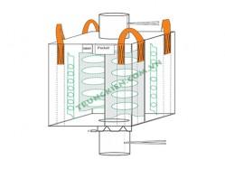 Baffle FIBC bulk bags